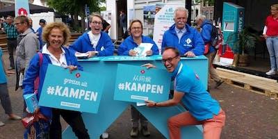 vrijwilligersborrel Kampen Marketing en Tourist Info