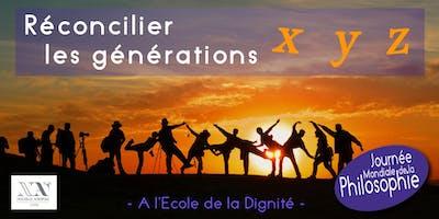 Réconcilier les générations X Y Z dans la dignité - Conférence