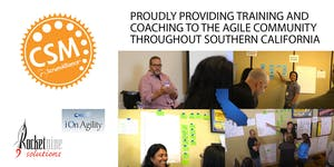 Certified Scrum Master Training (CSM) San Diego, CA...