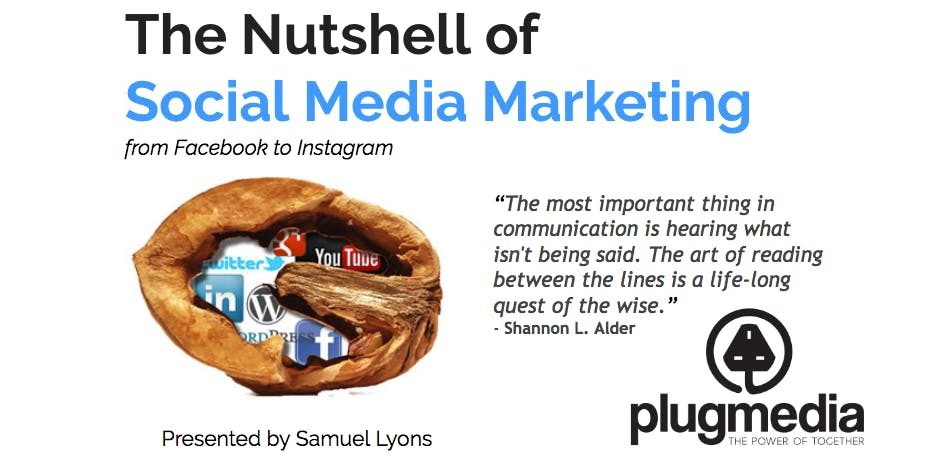 The Nutshell of Social Media Marketing - Mon & Tue Evening