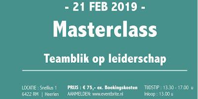 Masterclass: Teamblik op Leiderschap