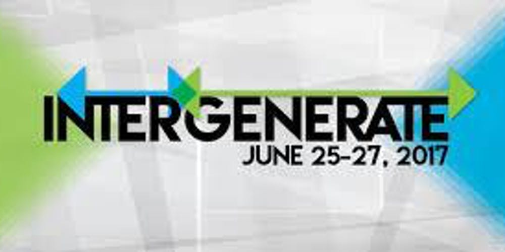 Intergenerate Conference 2019 Registration Mon May 20 2019 At 12