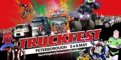 Truckfest Peterborough Truck Entry 2019