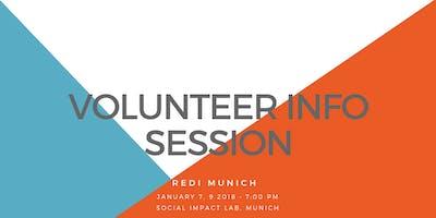 ReDI Munich Volunteer Info Session Spring Semester