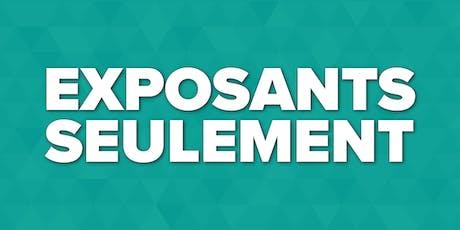Expozoo 2019 - Inscription pour passes exposants billets