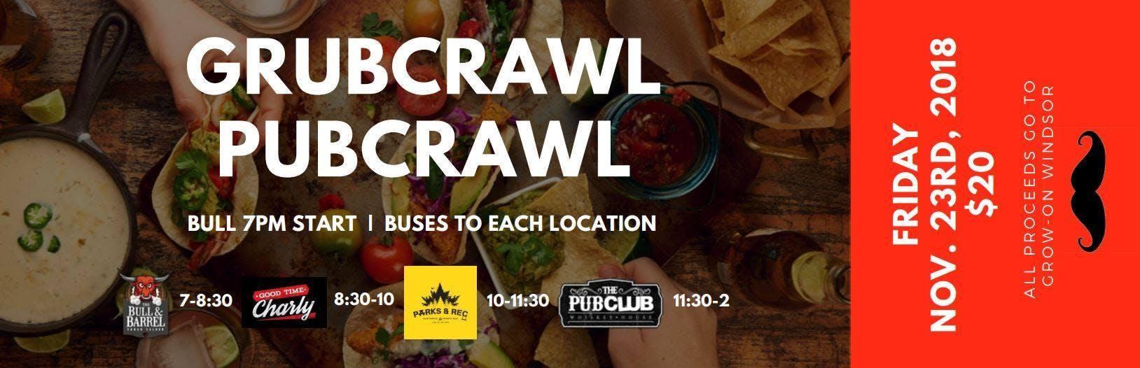 GrubCrawl PubCrawl