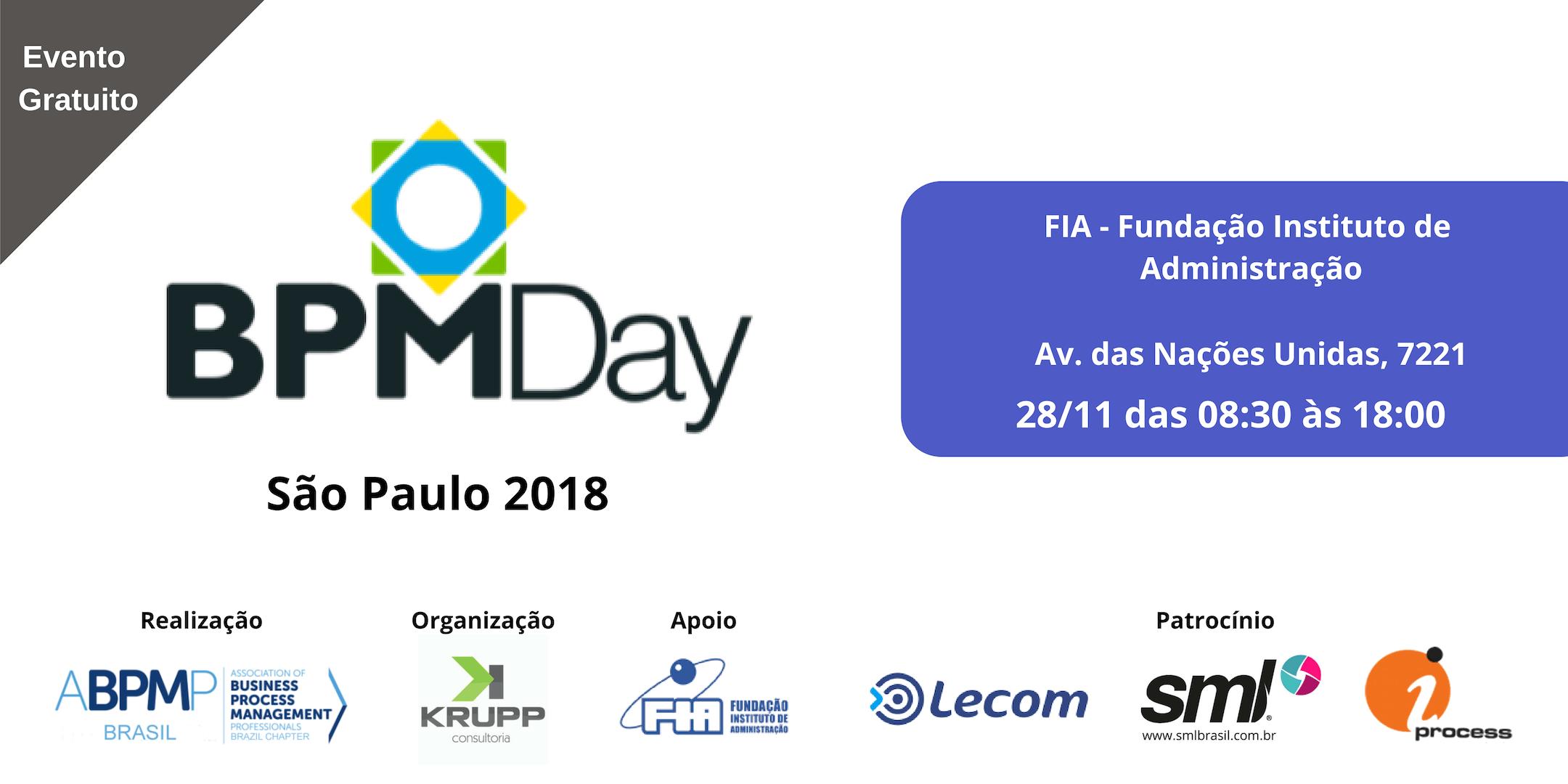 BPM Day São Paulo 2018