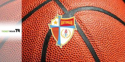 Antonian vs Dominic Savio FR/JV/Varsity Basketball (Boys)
