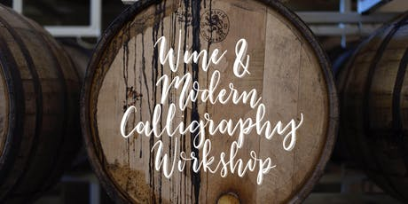 Wine and Modern Calligraphy Workshop tickets