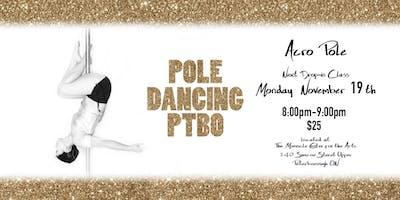 Acro Pole Drop-in Monday Nov. 19th