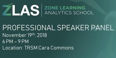 ZLAS 2018 Professional Speaker Panel