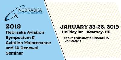 2019 Nebraska Aviation Symposium & Aviation Maintenance and IA Renewal Seminar
