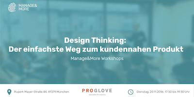 Design Thinking: Der einfachste Weg zum kundennahen Produkt