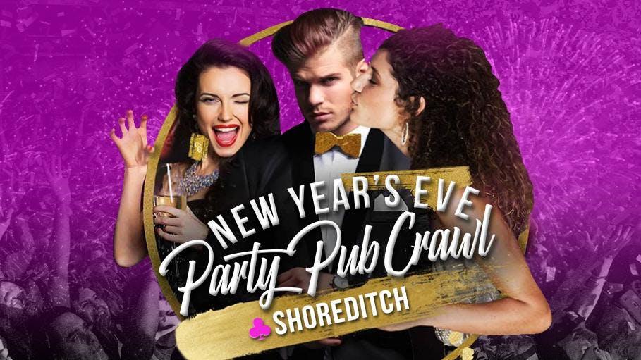 Shoreditch New Year's Eve Pub Crawl