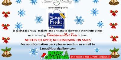 Barking Christmas Art Fair Stall Booking