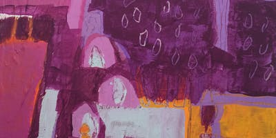 Kathleen Mooney–Abstraction and Acrylics!