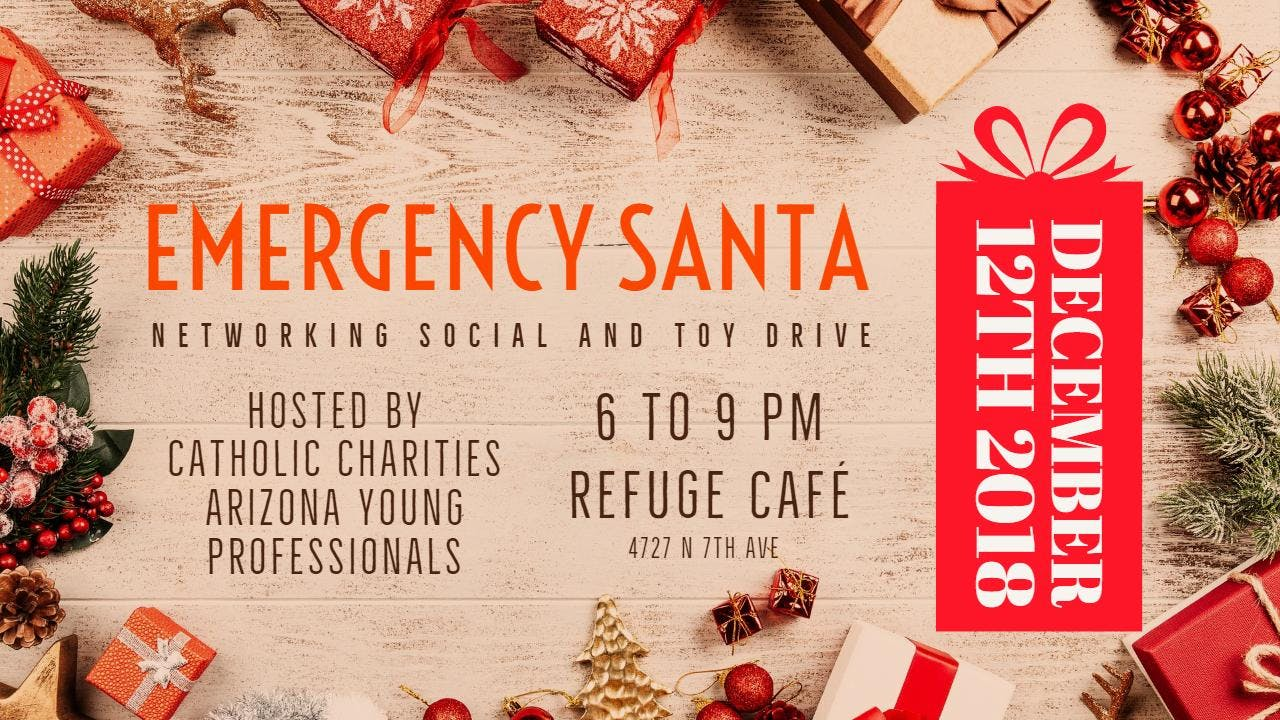 Networking Social & Christmas Toy Drive