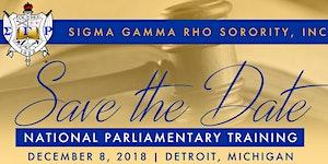 2018 Parliamentary Training