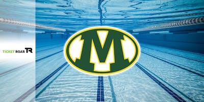 Medina vs Elyria/Mentor Varsity Swimming (B&G)