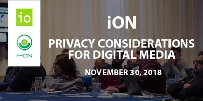 iON - Privacy Considerations for Digital Media