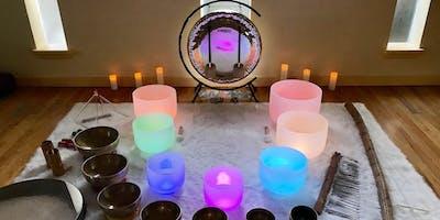 Sound Bath + Pranic Healing Meditation - Campbell 4:30pm