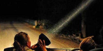 Spotlighting night walk along the Wingecarribee River - Berrima Scout Camp