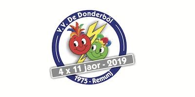 Felicitatie jubileum 4x11 V.V. de Donderböl