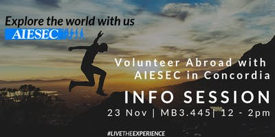 Volunteer Abroad with AIESEC in Concordia
