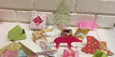 Holiday Origami Workshop