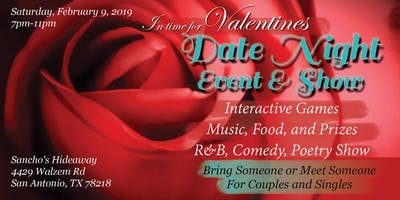 Date Night Event - In Time for Valentines