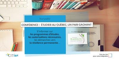 Conférence / Étudier au Québec : le pari gagnant