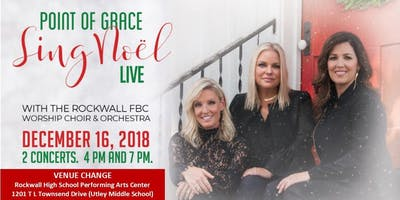 ""\""""Sing Noel"""" Point of Grace and The Rockwall FBC Choir and Orch 4pm (RHSPAC)""400|200|?|en|2|7598bbfb7668848a56d9620737bb85c7|False|UNLIKELY|0.31279250979423523