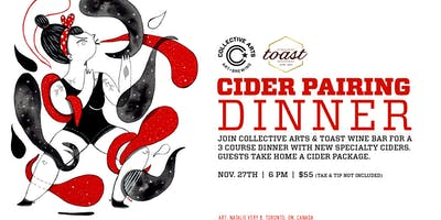 Cider Pairing Dinner with Collective Arts