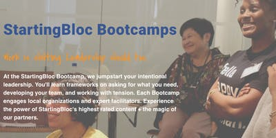 StartingBloc Bootcamp: Detroit (in partnership with the James and Grace Lee Boggs Center to Nurture Community leadership)