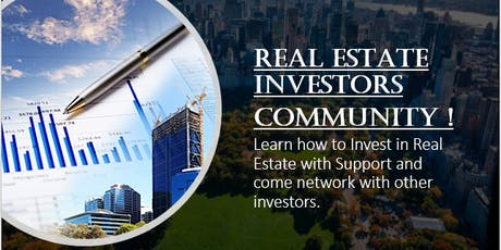 Real Estate Investors Community & Coaching (NYC) !! tickets