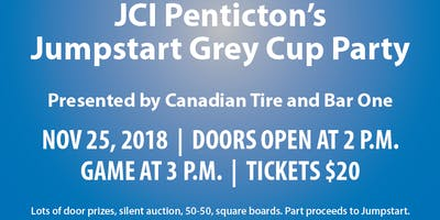 JCI Penticton JumpStart Grey Cup Party