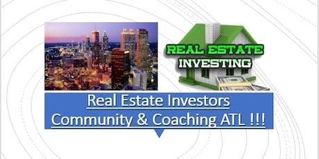 Real Estate Investors Community & Coaching (ATL) tickets