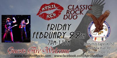April Red LIVE at The Zephyrhills Eagles #3752 in Welsey Chapel!