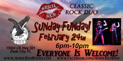 April Red LIVE at The Dade City Eagles FOE 4399!
