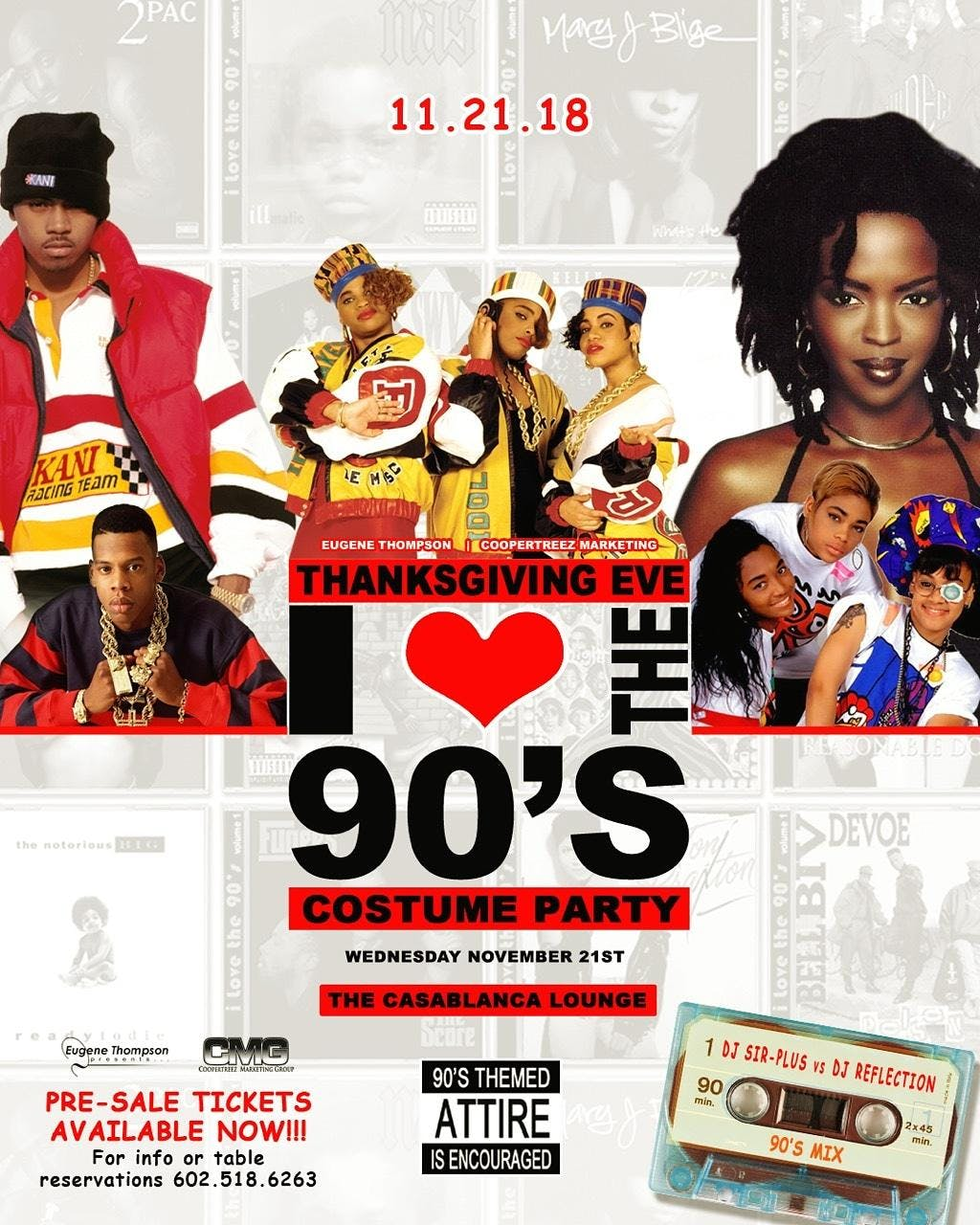 1st Annual I Love The 90s Costume Party