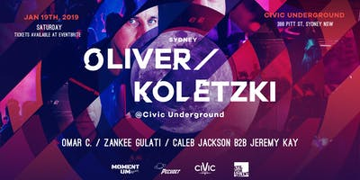 Oliver koletzki - 3 hour set - after party AT Civic Underground