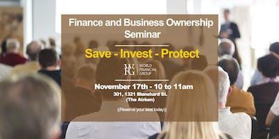 Finance & Business Ownership Seminar