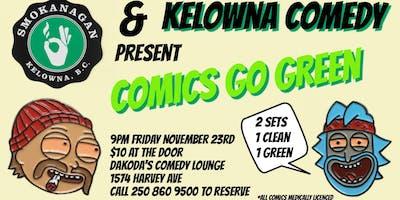 Smokanagan presents Comics Go Green
