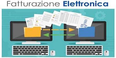 22.11.2018 - La Fatturazione Elettronica – obbligo per le imprese dal 1° gennaio 2019 – incontro di approfondimento