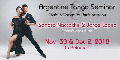 Tango Seminar ~ Sandra & Jorge