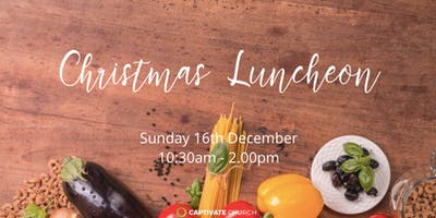 Christmas lunch at Captivate Church