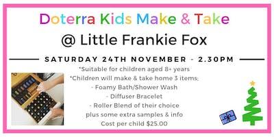 Doterra Kids Make & Take Workshop @ Little Frankie Fox