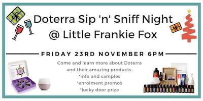 Doterra Sip n Sniff Night @ Little Frankie Fox
