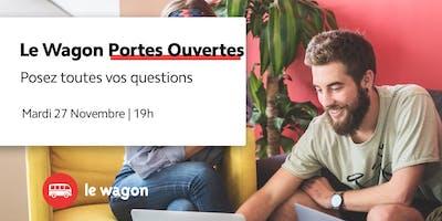 Session d'information le Wagon Bordeaux le 27 novembre - Apprendre à coder
