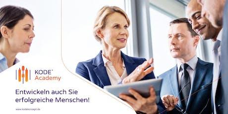 KODE® Lizenzausbildung München, 19./20.09.2019 Tickets
